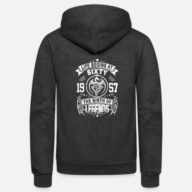 Birth THE BIRTH OF LEGENDS - Unisex Fleece Zip Hoodie