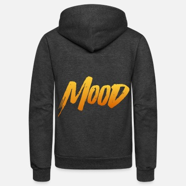 MOOD - Unisex Fleece Zip Hoodie