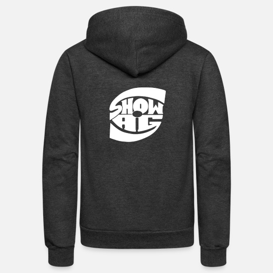 Shower Hoodies & Sweatshirts - Show Ag - Unisex Fleece Zip Hoodie charcoal gray