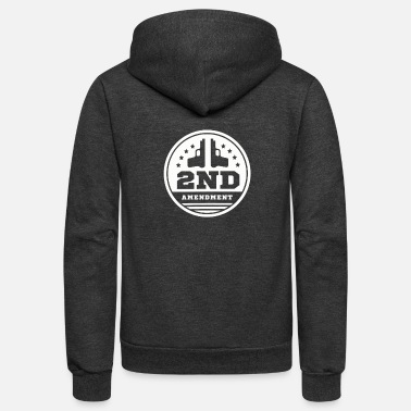 2nd Amendment 2ND Amendment - Unisex Fleece Zip Hoodie