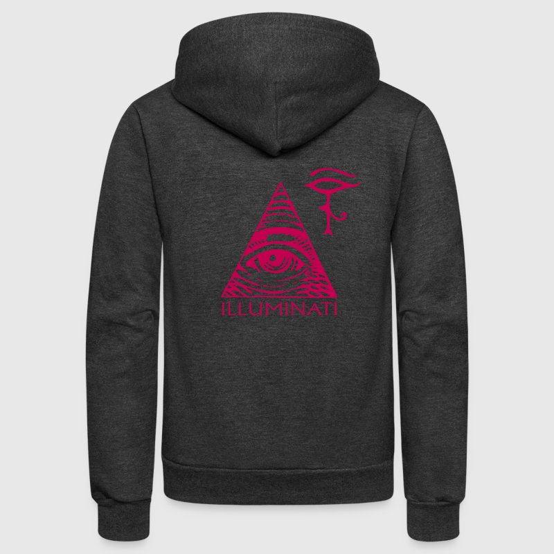 eye illuminati Zip Hoodies/Jackets - Unisex Fleece Zip Hoodie