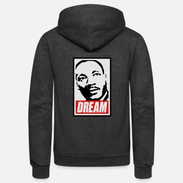 Black People x Dream MLK - Unisex Fleece Zip Hoodie