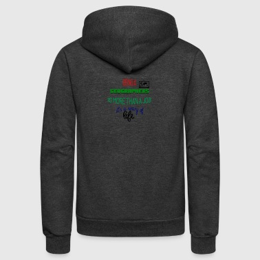 Being geographers - Unisex Fleece Zip Hoodie