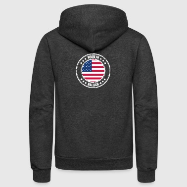RALEIGH - Unisex Fleece Zip Hoodie