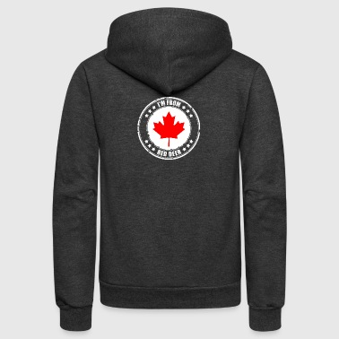 I'm from RED DEER - Unisex Fleece Zip Hoodie