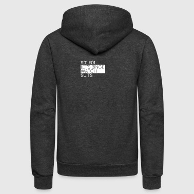 Suits - Unisex Fleece Zip Hoodie