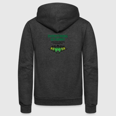 Everything Is Funny When It Happens To Others! - Unisex Fleece Zip Hoodie