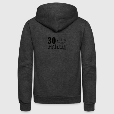 30 years wishing - Unisex Fleece Zip Hoodie