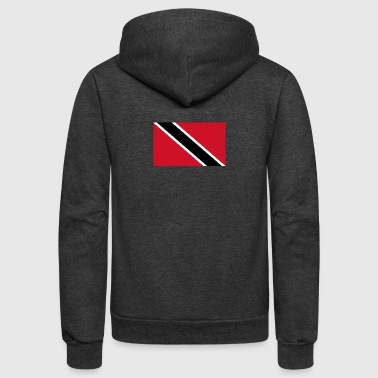 National Flag Of Trinidad And Tobago - Unisex Fleece Zip Hoodie