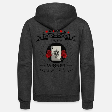Beer Pokerface - Winner - Unisex Fleece Zip Hoodie