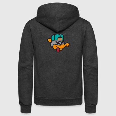 Duck Hang - Unisex Fleece Zip Hoodie
