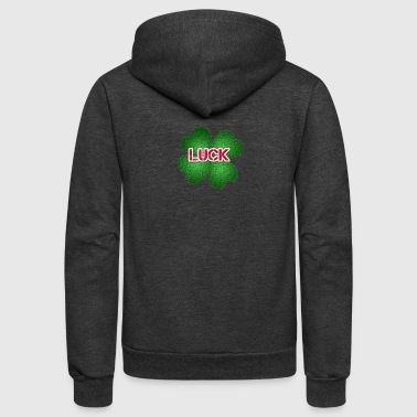 luck - Unisex Fleece Zip Hoodie