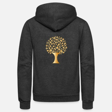 Luxury Luxury Tree - Unisex Fleece Zip Hoodie