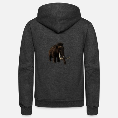 Wilderness mammoth woolly elephant elefant mammut10 - Unisex Fleece Zip Hoodie