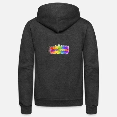 Revolution Revolution - Unisex Fleece Zip Hoodie