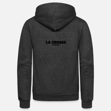 La Crosse WISCONSIN LA CROSSE US EDITION - Unisex Fleece Zip Hoodie
