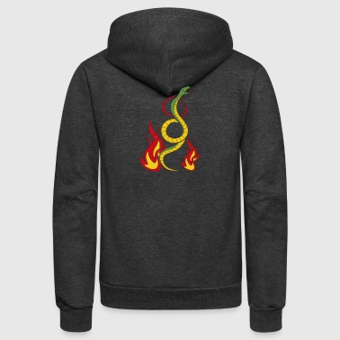 serpent - Unisex Fleece Zip Hoodie