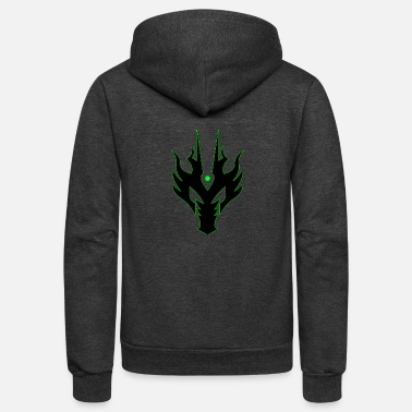 Dragon Head Dragon Head - Unisex Fleece Zip Hoodie