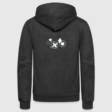 Shaped - Unisex Fleece Zip Hoodie