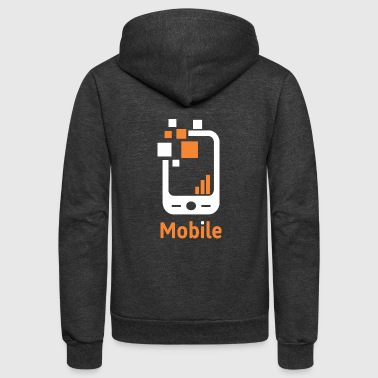 Mobile - Unisex Fleece Zip Hoodie