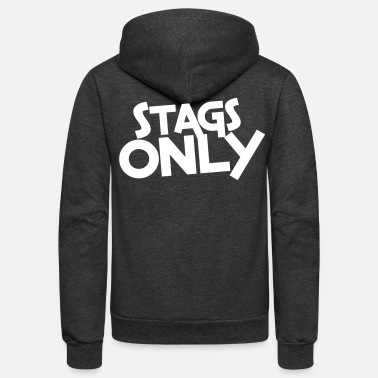 Bachelor stags only - Unisex Fleece Zip Hoodie