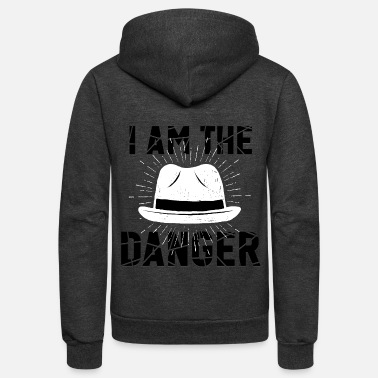 Skyler i am the danger bitch - Unisex Fleece Zip Hoodie