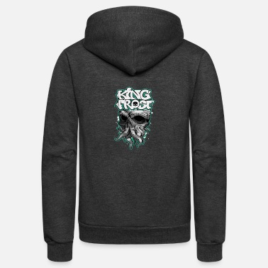 Frosting King Frost - Unisex Fleece Zip Hoodie