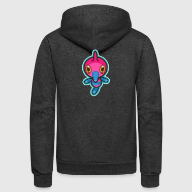 Dubious Disc - Unisex Fleece Zip Hoodie