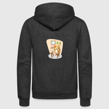 pizza pizzeria food essen restaurant22 - Unisex Fleece Zip Hoodie