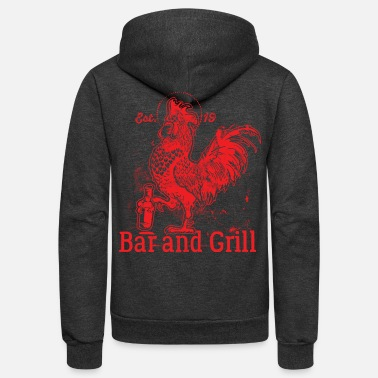 Grilling Grill Grill Grill - Unisex Fleece Zip Hoodie