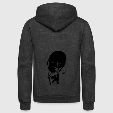 Dark Priest - Unisex Fleece Zip Hoodie