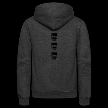 sleep sleep sleep - Unisex Fleece Zip Hoodie