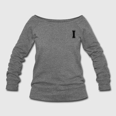 i - Women's Wideneck Sweatshirt