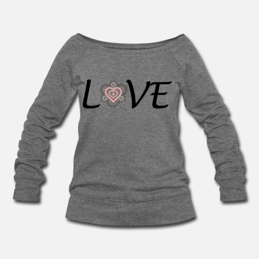 Adoption Adoption is LOVE - Women's Wideneck Sweatshirt