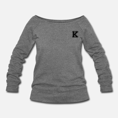 For K k - Women's Wideneck Sweatshirt