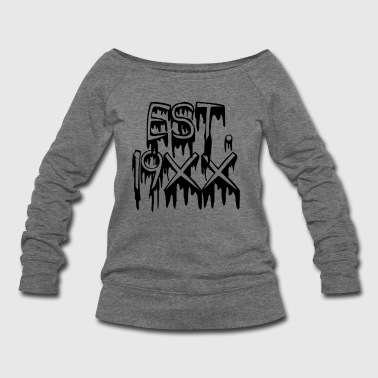 Established Blood - Women's Wideneck Sweatshirt