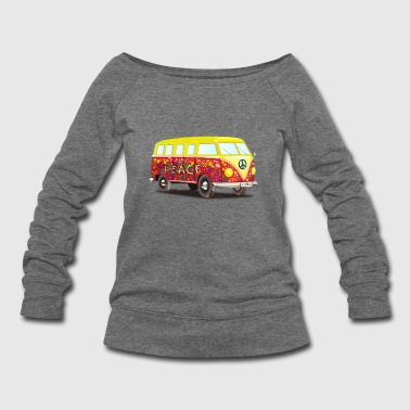 Hippie hippie - Women's Wideneck Sweatshirt