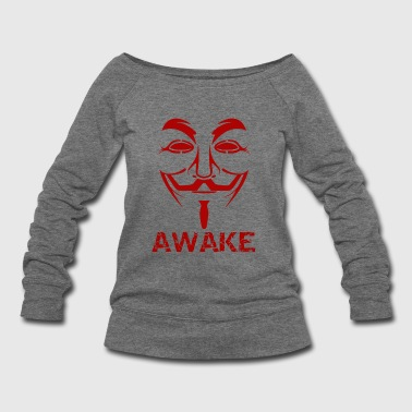 Awakening Awaken The World - Women's Wideneck Sweatshirt