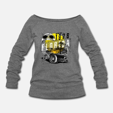 Motor florida motor club - Women's Wideneck Sweatshirt