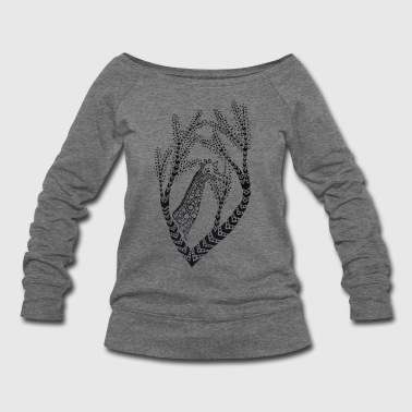 Giraffe - Women's Wideneck Sweatshirt