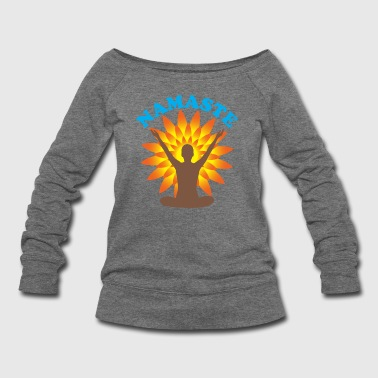 Namaste - Women's Wideneck Sweatshirt