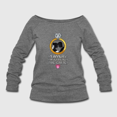 Player 2 Has Entered The Game - Total Basics - Women's Wideneck Sweatshirt