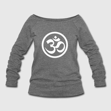 Om  - Women's Wideneck Sweatshirt