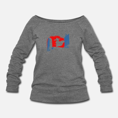 Flap PROMO What Flaps In The Night - Women's Wideneck Sweatshirt