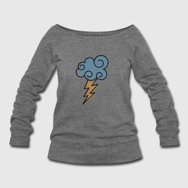Bolt - Women's Wideneck Sweatshirt