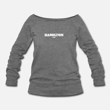 Ohio OHIO HAMILTON US EDITION - Women's Wideneck Sweatshirt
