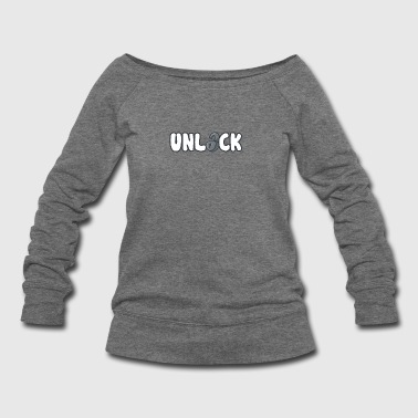 UNLOCK - Women's Wideneck Sweatshirt