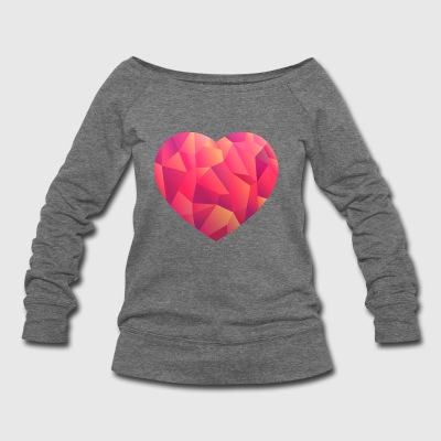 Be a Love Spreader - Women's Wideneck Sweatshirt