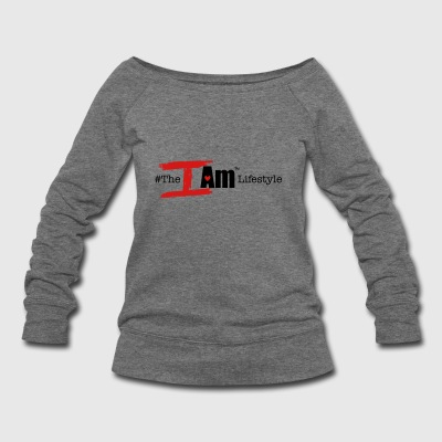 The I Am Lifestyle (Beta/Hashtag) - Women's Wideneck Sweatshirt