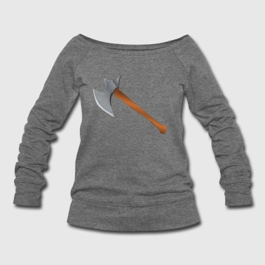 axe - Women's Wideneck Sweatshirt